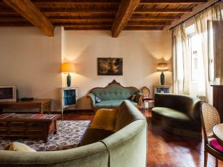 Large central Florence apartment with parking, lift and wi-fi