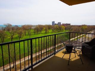 South Shore Condo-in-the-sky. 2miles U of Chicago.