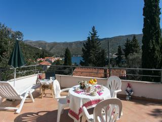 Apartments Tramonto - Studio Apartment with Balcony and Sea View, Zaton