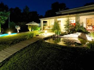 Villa with pool, hot tubs and gardens, Ventabren