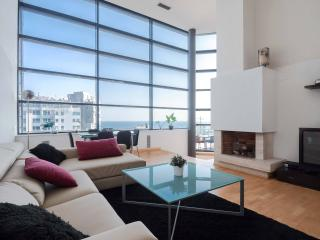 Exclusive Beach Penthouse with Pool, Barcelona