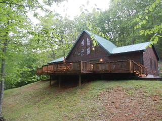 LUXURY NEW CABIN 2015, HOT TUB, PRIVATE, GAS LOGS., Burnsville