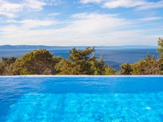 Old dalmatian house with pool and great view !!, Tucepi