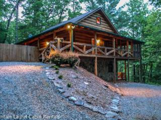ASKA ADVENTURE AWAITS-3 BR, 3 BATH, SLEEPS 7, HOT TUB, PET FRIENDLY, WIFI, SAT TV, CHIMINEA, GAS LOG FIREPLACE, GAS GRILL, FOOSBALL TABLE, PING PONG, SLEEPS 7, ASKA ADVENTURE AREA., Blue Ridge