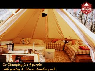East Coast Glamping Bell Tent Experiences, River John