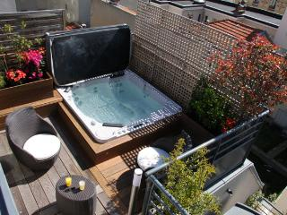 5 BD/9 guests Luxury Apt with terrace and Jacuzzi,, Paris