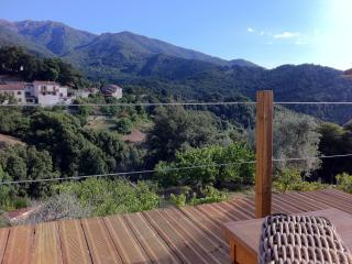 Corsican Cottage for 2 with outdoor hot tub, Olivese