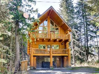 Pet-friendly lodge with a hot tub, close to lake and skiing!, Government Camp