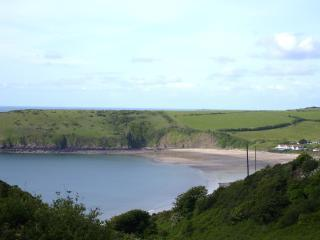 Holiday chalet on the coast, Freshwater East