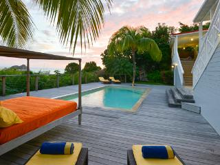 Hillside villa with a gorgeous sea view on Gustavia Harbor WV HSL, St. Barthelemy