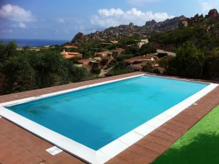 Coccole di Mare fantastic panoramic view and pool, Costa Paradiso
