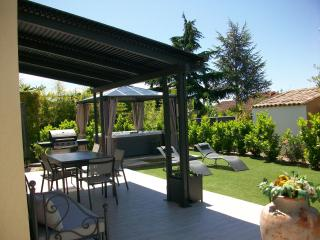 villa climatisee SPA 6 pers proche plages CANNEs, Pegomas