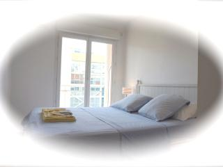 ideal family apartment, close to beach, wifi & AC, Nice