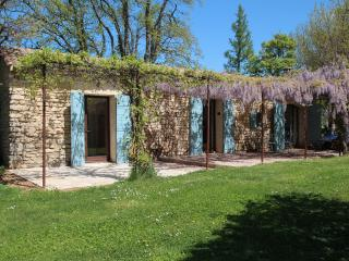 Le Potager - Romantic stone cottage with pool, Saignon