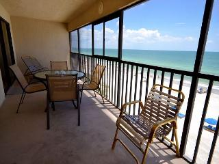Arie Dam 404 Gulf Front Corner Condo on Madeira Beach with Direct Gulf Views!