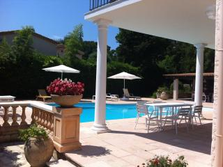 Cap d'Antibes villa with swimming pool, sea view