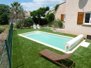 French Holiday Home & Swimming Pool, Portiragnes