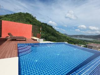 Loft Style Pool Villa With Ocean View, Patong