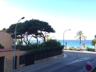 Equipped  apartment just 50 meters from beach, Blanes