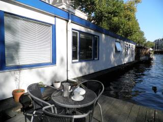 house boat, Amsterdam