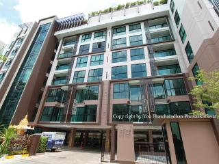 Heart of Bangkok, New 1BR, BTS, WiFi1