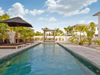 Garden Villas Papagayo with large saltwater pool - only 100 ft from waterfront, Kralendijk