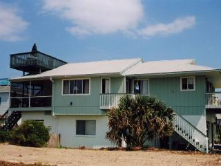 Bright and Airy Ocean View Home with Roof Top Deck, New Smyrna Beach