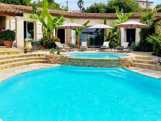 Air-conditioned luxury villa in Saint Paul de Vence, Provence, w/pool and tennis – 10min from beach, St-Paul-de-Vence