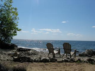 Enjoy Gazing Out Over the Bay on our Beach.