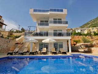 Holiday rental villa with amazing view in Kalkan.