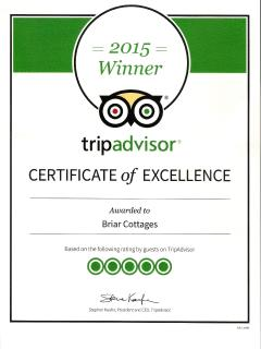 Winner of TripAdvisor Excellence Award 2015 for Customer Service -5 out of 5
