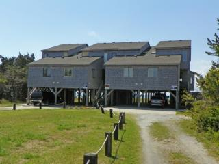 Water's View- Two story waterfront townhouse on Pamlico Sound, Ocracoke