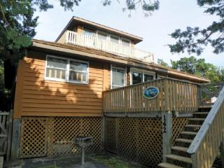 No Ka Oi-  Tucked away in a quiet neighborhood with a large yard, Ocracoke