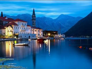 Perast sea views