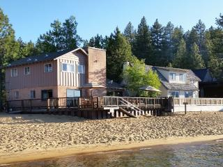 Beach Front 6bd Home Private Community, South Lake Tahoe