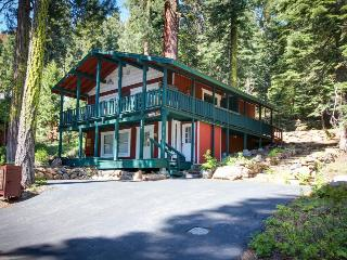 Great home with private hot tub, quiet tree-lined setting, Tahoe City