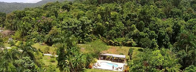 Secluded Private Property at Edge of El Yunque National Forest