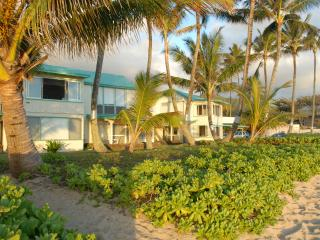 Beach front cottage with stunning views of sunrise, Hauula
