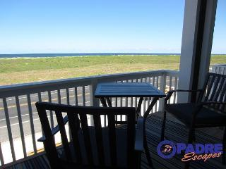 Padre Beach View is steps off the beach & has the best view on the Island!, Corpus Christi