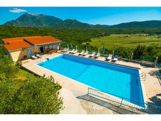 House Krnici with a olimpic swimming pool, Omis