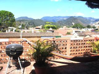 Big two level house with rooftop terrace, Antigua