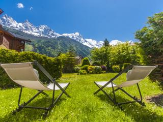 3 rooms, premium + view + close center / slopes, Chamonix