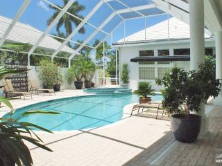 Truly one-of-a-kind courtyard-style home with private pool & spa!, Naples