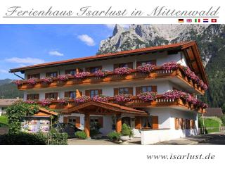 Vacation Apartment in Mittenwald - 738261 sqft, warm, comfortable, relaxing (# 2690)