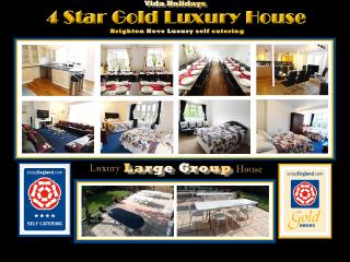 MANSION 4 STAR GOLD LUXURY GROUP HOLIDAYS BRIGHTON, Brighton