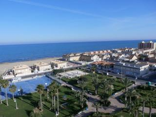 Penthouse beachfront apartment, La Mata