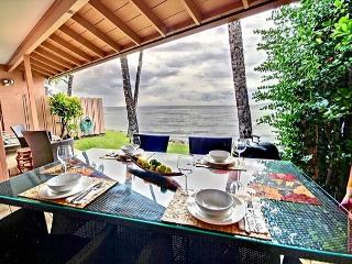 225-1  Very Private  Ocean Front Townhouse 25% Discount Selected Fall Dates, Lahaina