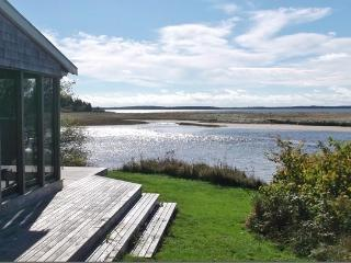 Spectacular views from the beachfront house, Riverport