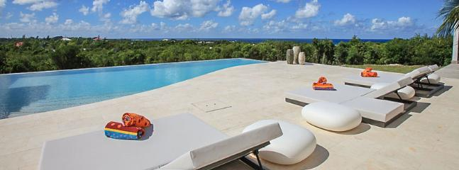 SPECIAL OFFER: St. Martin Villa 272 A Modern And Spacious Villa Overlooking The Caribbean Sea. This Brand New Villa Was Tastefully Designed., Terres Basses