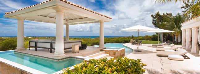 SPECIAL OFFER: St. Martin Villa 271 A Modern And Spacious Villa Overlooking The Caribbean Sea. This Brand New Villa Was Tastefully Designed., Terres Basses